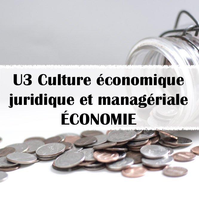 BTS_GPME_U3-Culture-économique-juridique-et-manageriale_ECONOMIE